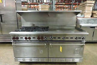 Commercial Cooktop and Range